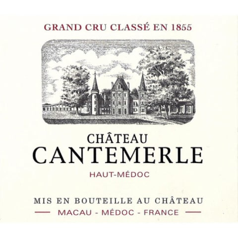 Chateau Cantemerle  2016 Front Label