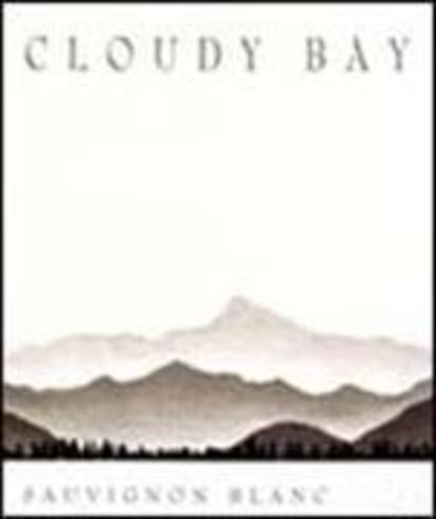 Cloudy Bay Sauvignon Blanc 2000 Front Label