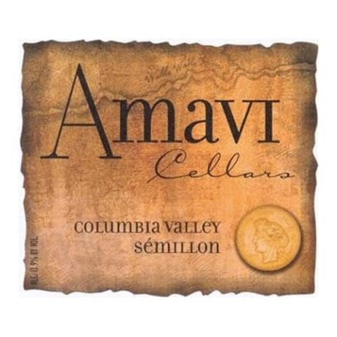 Amavi Semillon 2015 Front Label