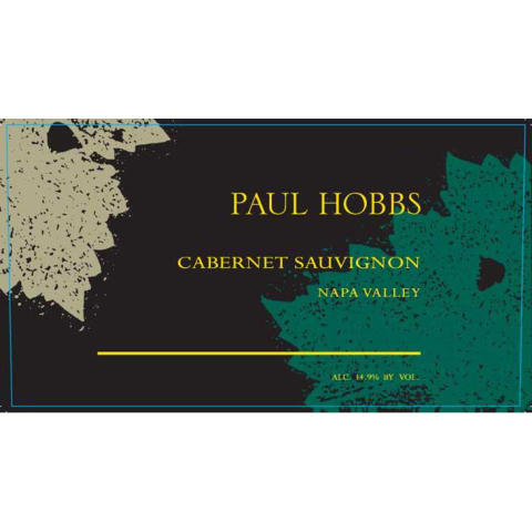 Paul Hobbs Napa Valley Cabernet Sauvignon (375ML half-bottle) 2003 Front Label