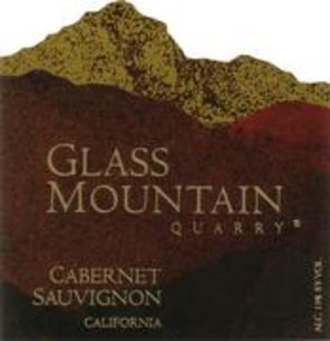 Markham Glass Mountain Cabernet Sauvignon 1998 Front Label