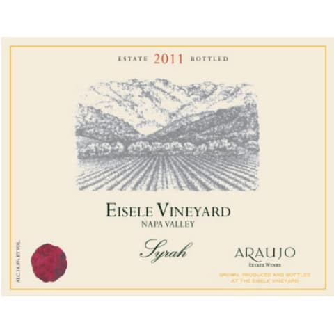 Araujo Eisele Vineyard Syrah 2011 Front Label
