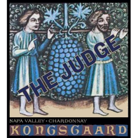 Kongsgaard The Judge Chardonnay 2006 Front Label