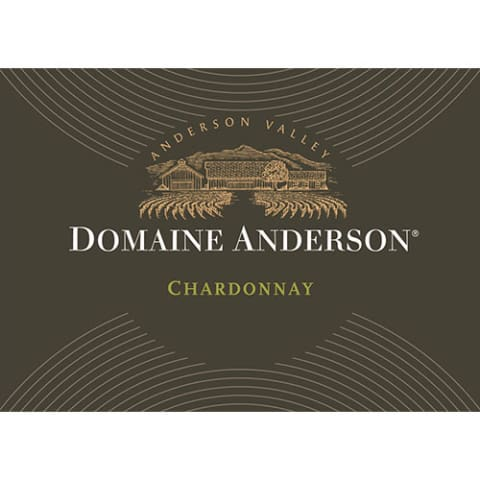 Domaine Anderson Estate Chardonnay 2013 Front Label