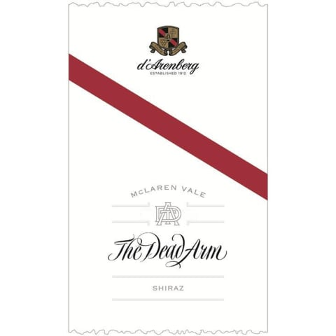 d'Arenberg The Dead Arm Shiraz 2013 Front Label