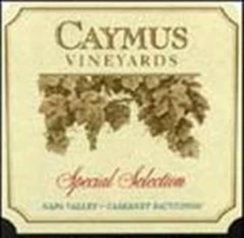 Caymus Special Selection Cabernet Sauvignon 1991 Front Label