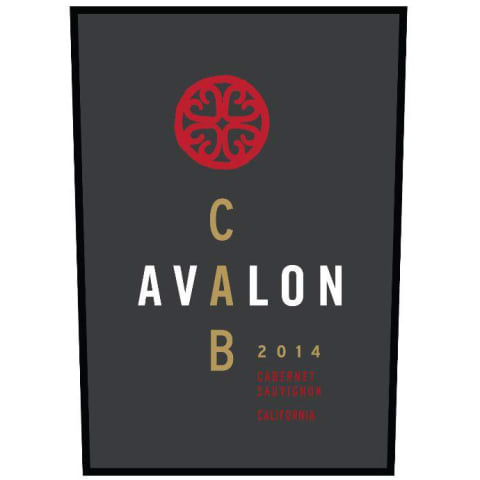 Avalon California Cabernet Sauvignon 2014 Front Label