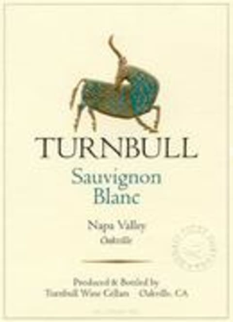 Turnbull Sauvignon Blanc 1999 Front Label