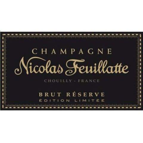 Nicolas Feuillatte Brut Reserve Gold Compass Special Edition Label