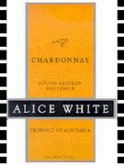 Alice White Chardonnay 2000 Front Label