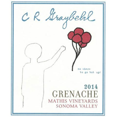 CR Graybehl Mathis Vineyard Grenache 2014 Front Label