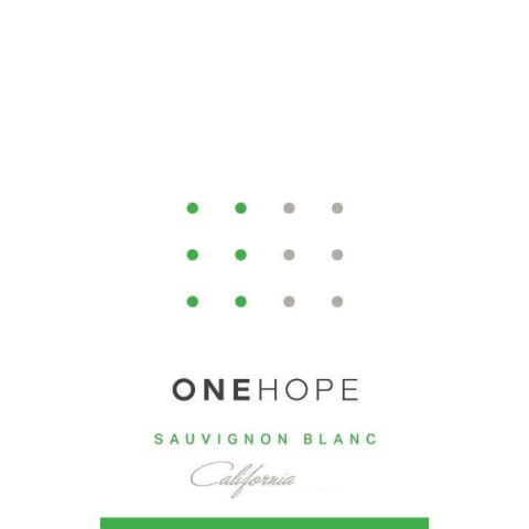 ONEHOPE California Sauvignon Blanc 2015 Front Label