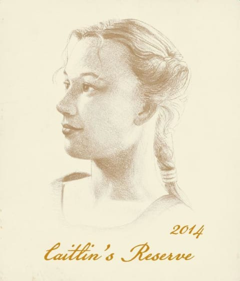Adelsheim Caitlin's Reserve Chardonnay 2014 Front Label