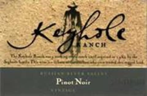 Seghesio Pinot Noir Keyhole Ranch 1999 Front Label