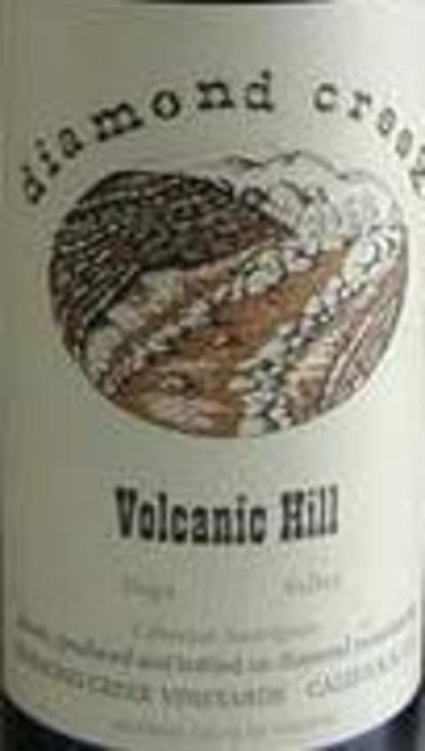 Diamond Creek Volcanic Hill Cabernet Sauvignon 1982 Front Label