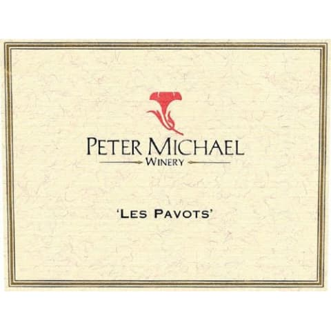 Peter Michael Les Pavots 1997 Front Label