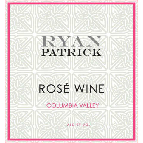Ryan Patrick Rose 2017 Front Label