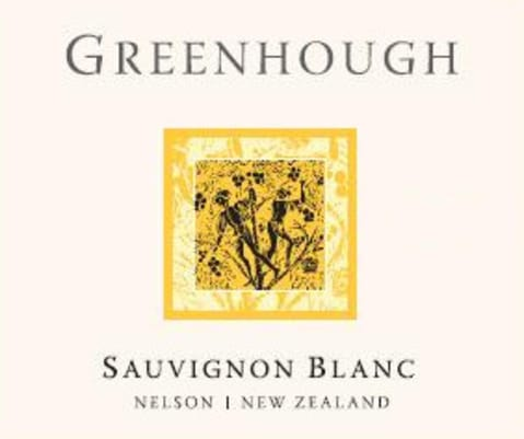 Greenhough Sauvignon Blanc 2012 Front Label