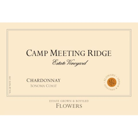 Flowers Camp Meeting Ridge Chardonnay (1.5 Liter Magnum) 2012 Front Label