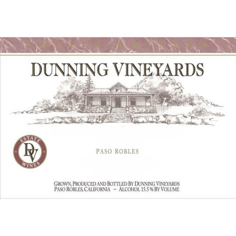 Dunning Chardonnay 2015 Front Label