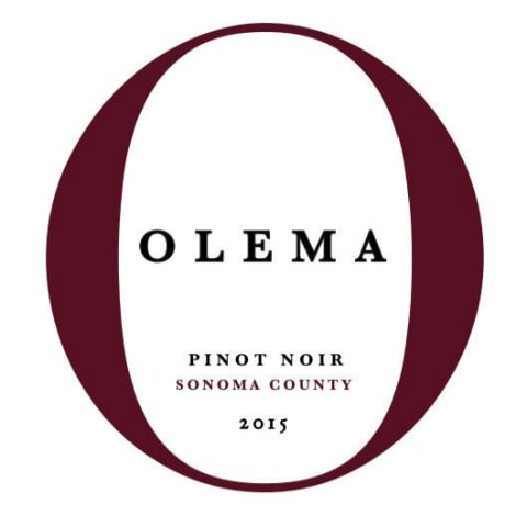 Amici Olema Pinot Noir 2015 Front Label
