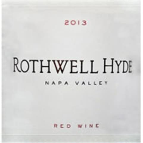 Abreu Vineyards Rothwell Hyde Red 2013 Front Label