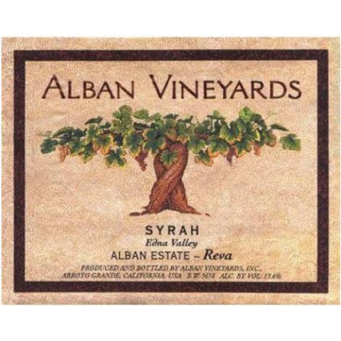 Alban Reva Estate Syrah (1.5 Liter Magnum) 2013 Front Label