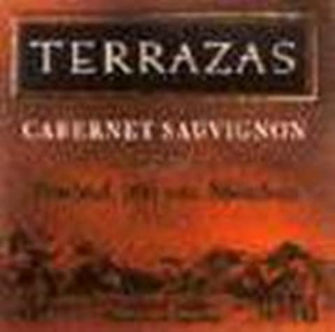 Terrazas De Los Andes Reserva Cabernet Sauvignon 1999