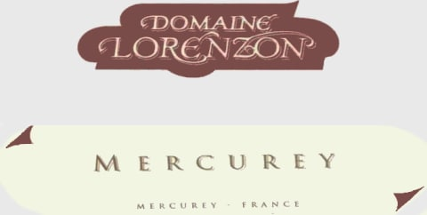 Domaine Bruno Lorenzon Mercurey Rouge 2006 Front Label