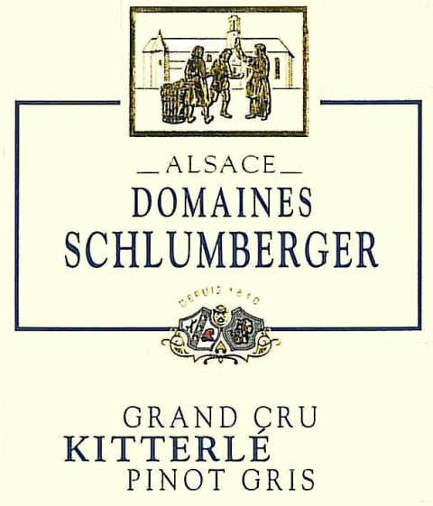 Domaines Schlumberger Kitterle Grand Cru Pinot Gris 2010 Front Label