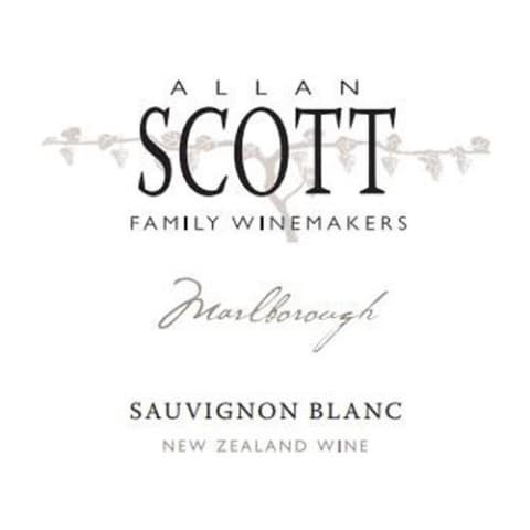 Allan Scott Marlborough Sauvignon Blanc 2017 Front Label