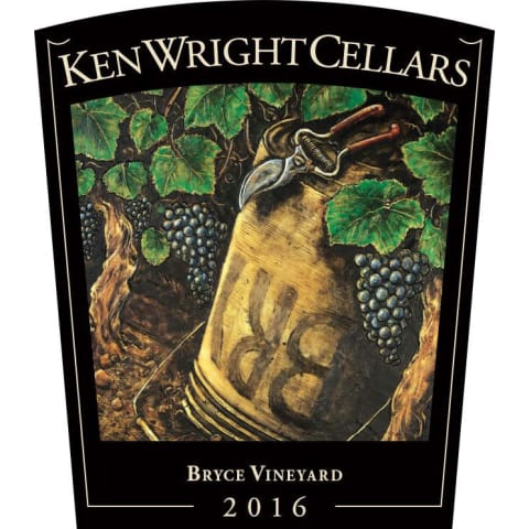 Ken Wright Cellars Bryce Vineyard Pinot Noir 2016 Front Label