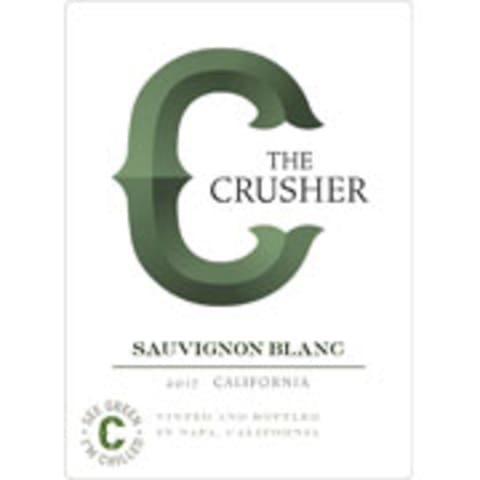 The Crusher Sauvignon Blanc 2017 Front Label