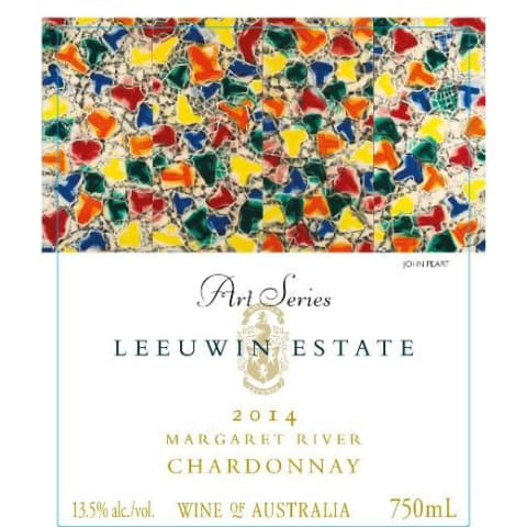 Leeuwin Estate Art Series Chardonnay 2014 Front Label