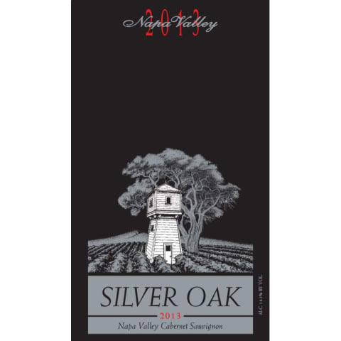 Silver Oak Napa Valley Cabernet Sauvignon 2013 Front Label
