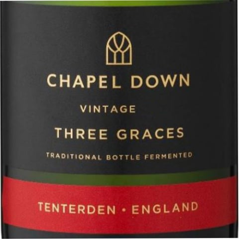 Chapel Down Three Graces Brut 2011 Front Label