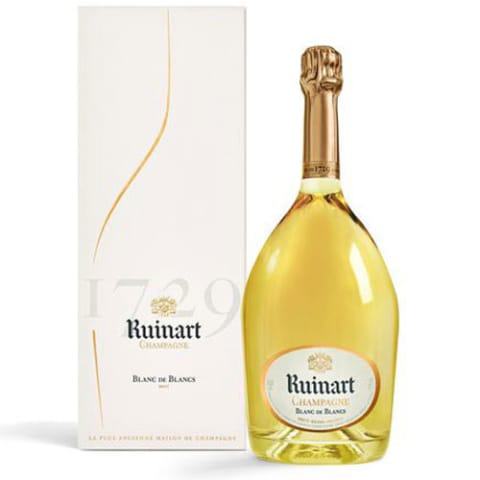 Ruinart Brut Blanc de Blancs with Gift Box Front Label