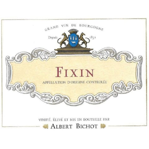 Albert Bichot Fixin Rouge 2015 Front Label