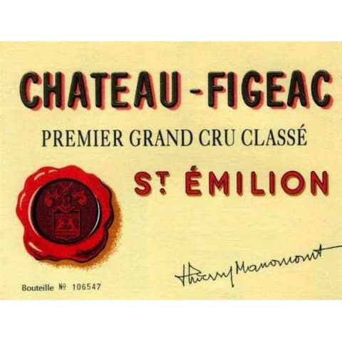 Chateau Figeac (1.5 Liter Futures Pre-Sale) 2017 Front Label