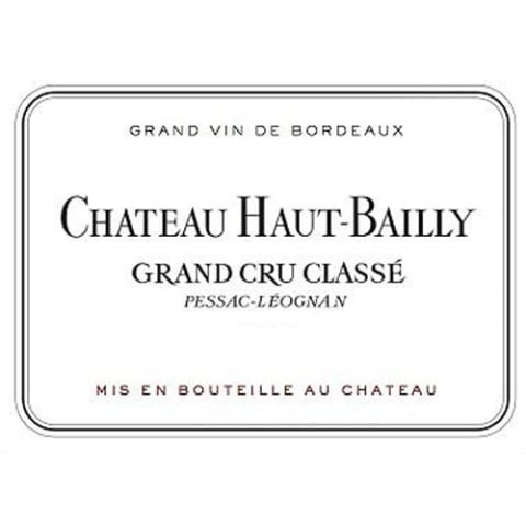 Chateau Haut-Bailly (1.5 Liter Futures Pre-Sale) 2017 Front Label