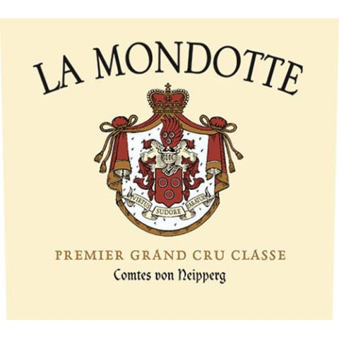 Chateau La Mondotte (Futures Pre-Sale) 2017 Front Label