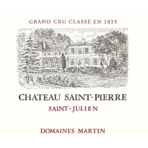 Chateau Saint-Pierre (Futures Pre-Sale) 2017 Front Label