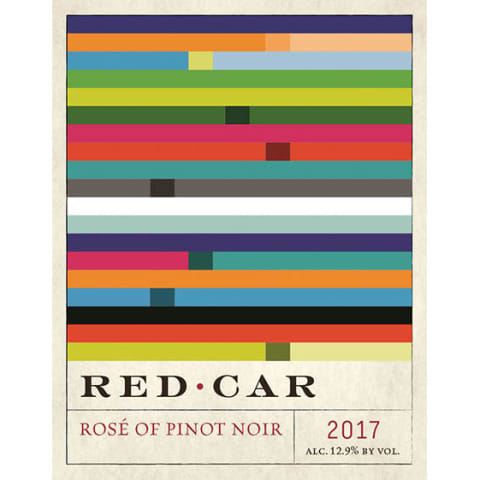 Red Car Rose of Pinot Noir 2017 Front Label