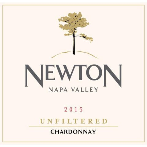 Newton Unfiltered Chardonnay 2015 Front Label