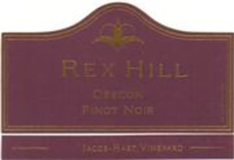 Rex Hill Jacob Hart Vineyard Pinot Noir 1999 Front Label