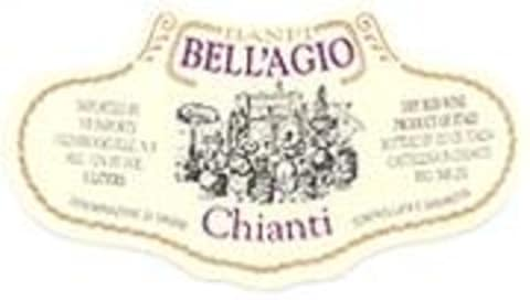 Banfi Estate Bottled Flask Chianti 2000 Front Label