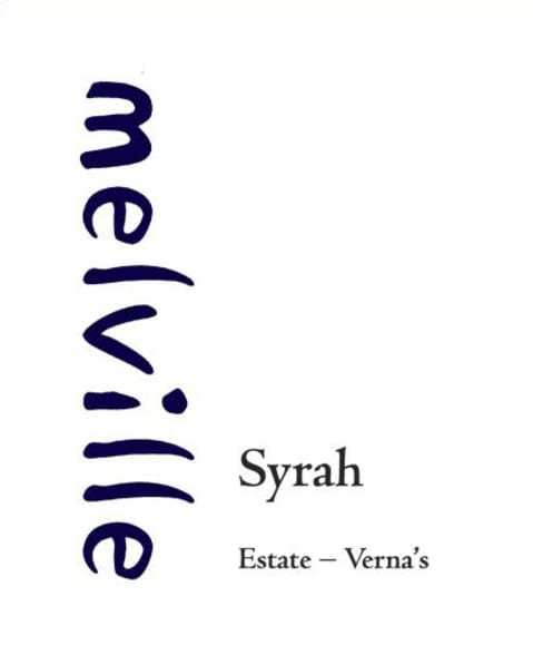 Melville Estate Verna's Syrah 2014 Front Label