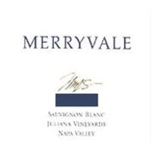 Merryvale Reserve Juliana Vineyard Sauvignon Blanc 2000 Front Label