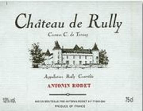 Antonin Rodet Chateau de Rully Rouge 1998 Front Label