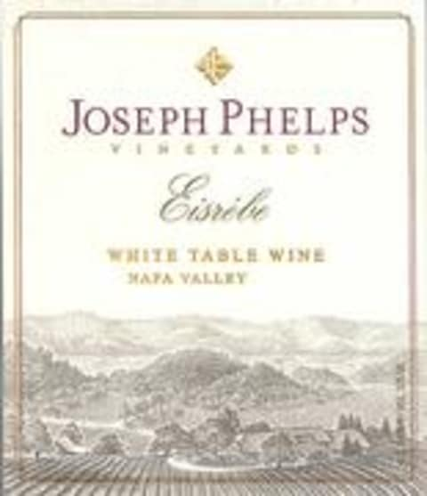 Joseph Phelps Eisrebe (375ML) 2001 Front Label